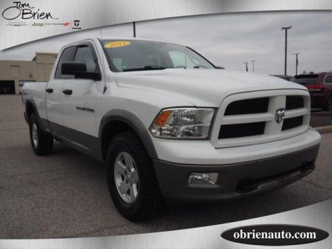 Pre-Owned 2011 Ram 1500 4WD Quad Cab 140.5 Outdoorsman