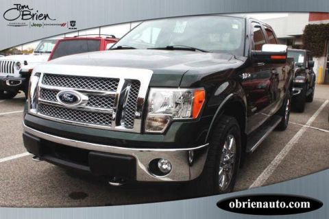 Pre-Owned 2012 Ford F-150 4WD SuperCrew 145 Lariat