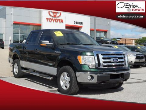 Pre-Owned 2012 Ford F-150 4WD SuperCrew 145 XLT