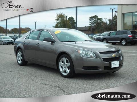 Pre-Owned 2012 Chevrolet Malibu 4dr Sdn LS w/1LS