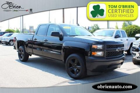 Pre-Owned 2015 Chevrolet Silverado 1500 4WD Double Cab 143.5 Work Truck