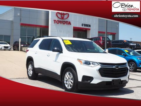 Pre-Owned 2019 Chevrolet Traverse FWD 4dr LS w/1LS