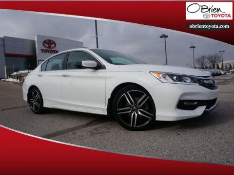 Pre-Owned 2016 Honda Accord 4dr I4 CVT Sport PZEV