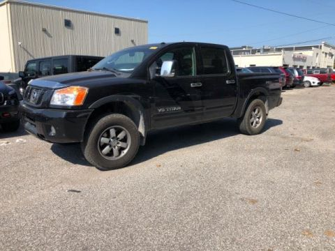 Pre-Owned 2011 Nissan Titan 4WD Crew Cab SWB PRO-4X