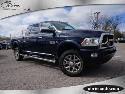 Pre-Owned 2017 Ram 2500 Limited 4x4 Mega Cab 6'4 Box