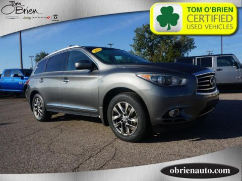 Pre-Owned 2015 INFINITI QX60 AWD 4dr