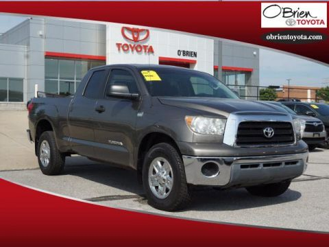 Pre-Owned 2008 Toyota Tundra 4WD Dbl 4.7L V8 5-Spd AT Grade