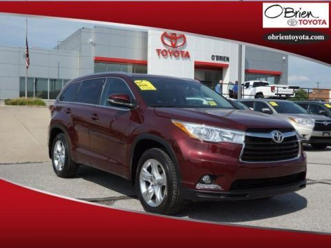 Pre-Owned 2014 Toyota Highlander AWD 4dr V6 Limited