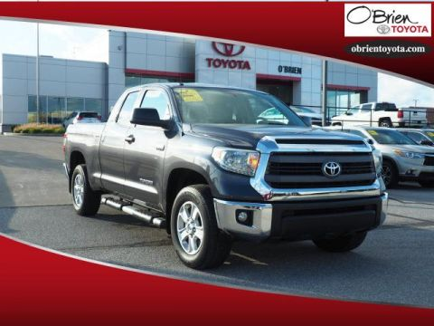 Pre-Owned 2014 Toyota Tundra 4WD Double Cab 5.7L FFV V8 6-Spd AT SR5