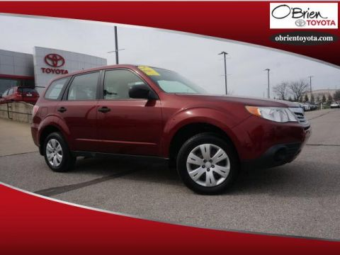 Pre-Owned 2013 Subaru Forester 4dr Man 2.5X