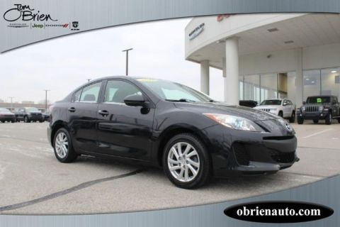 Pre-Owned 2012 Mazda3 4dr Sdn Auto i Touring