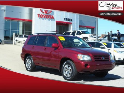 Pre-Owned 2005 Toyota Highlander 4dr V6 4WD Limited w/3rd Row