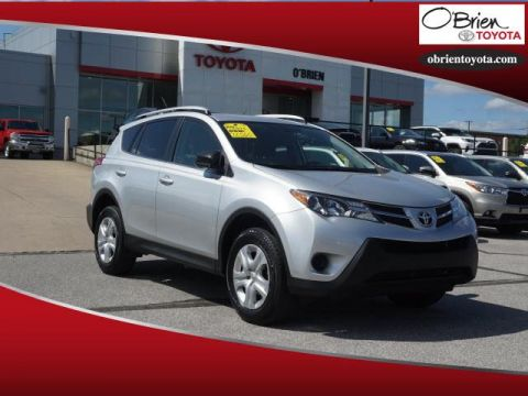 Pre-Owned 2015 Toyota RAV4 AWD 4dr LE