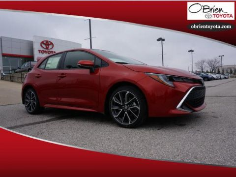 New 2019 Toyota Corolla Hatchback XSE Manual