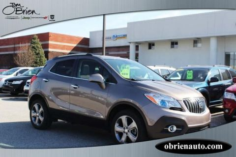 Pre-Owned 2013 Buick Encore AWD 4dr Leather