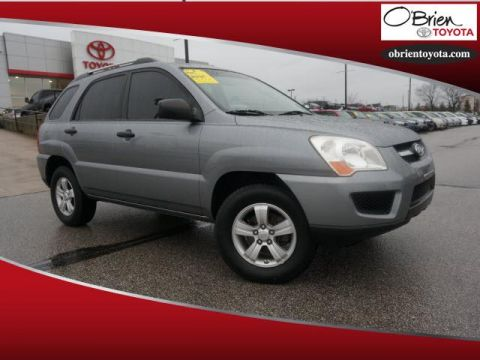 Pre-Owned 2009 Kia Sportage 4WD 4dr I4 Manual LX